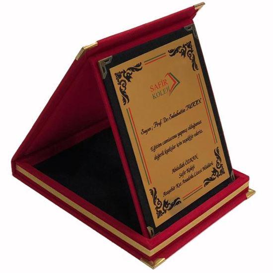Picture of 12x16 cm Albüm Kutu Plaket (Kırmızı)