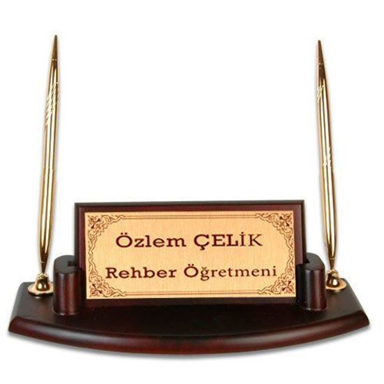 Picture of Ahşap İsimlik - Kalemli