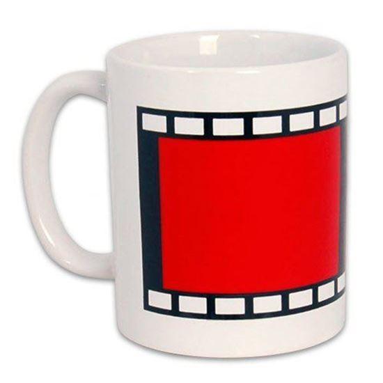 Picture of Kişiye Özel Baskılı Film Şeritli Kupa