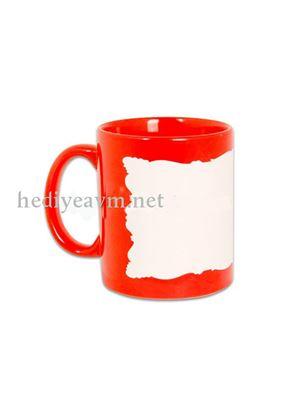 Picture of Dekoratif Kırmızı Renkli Kupa